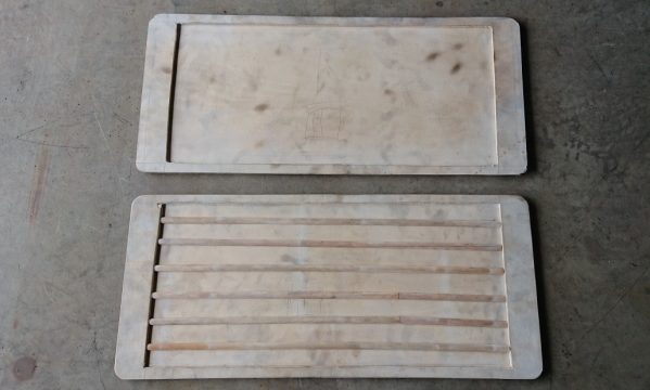 鉄板 木型