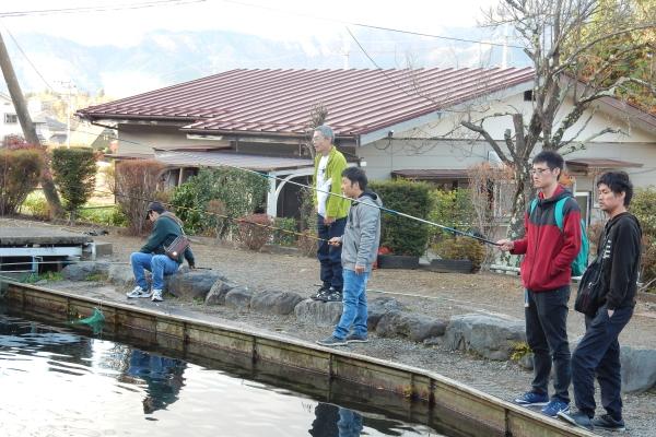 釣り大会 松野鋳造